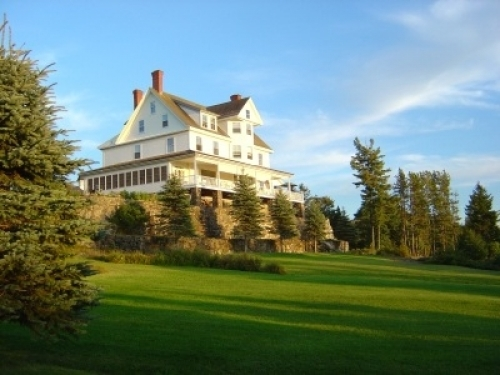 Blair Hill Inn and Restaurant overlooking Moosehead Lake