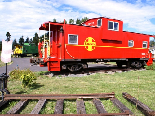Red Caboose Getaway (Near Seattle)